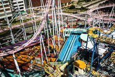 Colour roller coaster / Yokohama