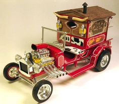 Chuck Wagon Weird Cars, Cool Cars, Model Cars Building, Chuck Wagon, Plastic Model Cars, Model Cars Kits, Pedal Cars, Sweet Cars, Vintage Models