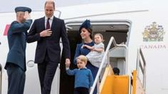 William and Kate begin tour of Canada - BBC News