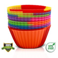 Cupcake Liners-Silicone Baking Cups - Amazon Lightning Deal Picks - http://wp.me/p56Eop-HhP