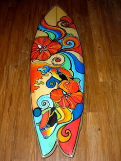 Would love to paint a board like Colleen Wilcox.