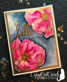 Posts about Antique Rose written by CopyCatCards Sharon White, Gold Paper, Cat Cards, Antique Roses, Hero Arts, Flower Cards, Creative Cards, Cardmaking, Card Stock