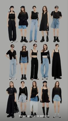 Kpop Fashion Outfits, Mode Outfits, Retro Outfits, Cute Casual Outfits, Stylish Outfits, Korean Girl Fashion, Korean Street Fashion, Look Fashion, Korean Outfit Street Styles