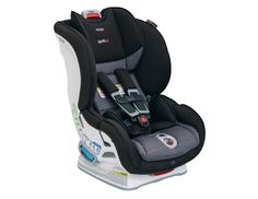 Top 10 Car Seats: Super-Safe The Britax Marathon ClickTight is basically one step away from wrapping your baby in bubble wrap. It has a slew of high-tech safety components that protect baby — and now it's easier to install than ever. You flip up the seat, guide your car's belt buckle through snugly and then secure. No yanking or tugging! There's also a 65-pound weight capacity (whoa!) and a harness that easily adjusts for growing child (without any rethreading), so it's bound to last you a…