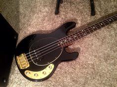 Musicman Stingray Limited Edition Bass   20.5jt I Love Bass, Bass Guitars, Cool Guitar, Sheet Music, Club, Music Score, Music Charts, Music Sheets