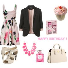 Birthday Party, created by patricia-teixeira on Polyvore