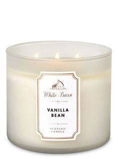 White Barn Vanilla Bean Candle White Barn Vanilla Bean Candle - Bath And Body Works