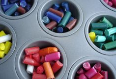 Melt crayons and shape into fun molds- 12 Unique Birthday Party Favors and Goody Bags - ParentMap
