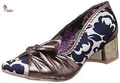 Irregular Choice  Ladies First, Escarpins femme - multicolore - Multicolour (Bronze), 36 EU (3.5 UK) - Chaussures irregular choice (*Partner-Link)
