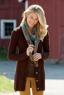 Best-Ever Cable Knit Cardigan