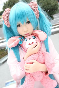 miku hatsune #vocaloid #cosplay 初音ミクIs miku hatsune an anime character? I want to know and if so which anime?