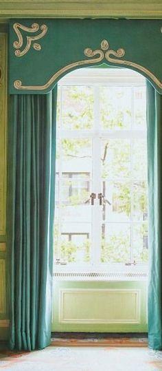 soutache window treatments Valances Pelmets Lambrequins Cornices                                                                                                                                                                                 More