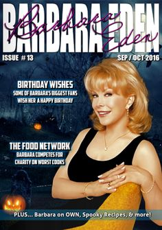 The September/October issue of my magazine is out now! Yippee! Buy it here: https://barbaraeden.net/digital-magazine/143-emag-sepoct-2016.html -B
