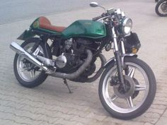 Honda CB400N cafe racer by tommys