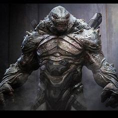 #jupiterascending #greeghan #conceptart #creatudesign #scifi #lizardman #reptile #green #tech #alien. Fun movie to work on