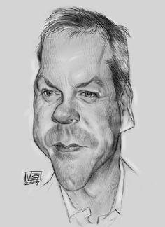 Kiefer Sutherland https://www.facebook.com/CharacterDesignReferences