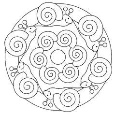 * Mandala: Slakken...