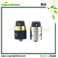 RH Royal Hunter RDA E Cig Atomizer 1.Air flow adjustable, with AFC 2.Quad poles 3.Posts material: Stainless steel 4.510 threading connection 5.Copper 510 center screw (adjustable)  https://www.vaporglobal.com/wholesale/atomizer/rh/rh.html