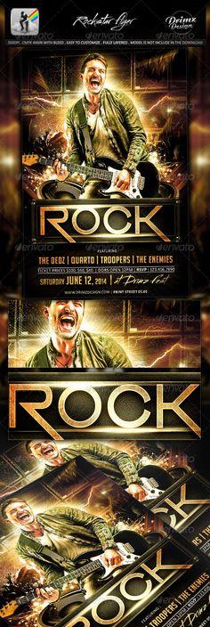 Rockstar Flyer