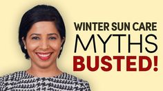 Today's video busts a few myths on the sun and your skin during the cooler months of winter! ⛅️❄️