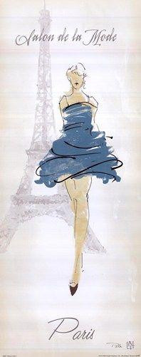 Fashion Lady I Art Print by Avery Tillmon