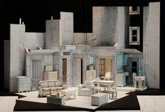 Scale Model Bühnen Design, Media Design, Design Model, Design Elements, Stage Set Design, Set Design Theatre, Dark Fantasy Art, Scenography Theatre, Royal Ballet