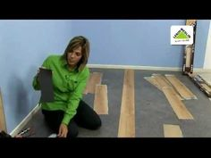 Como instalar Pisos Vinilicos (Floating Homecenter) - YouTube