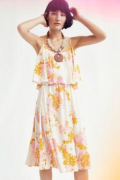 Magnolia Midi Dress - anthropologie.com