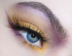 gold x purple