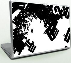 I think that they are very mobile. Laptop Covers, Laptop Stickers, Laptop Skin, Typography, Notebook, Make It Yourself, Crowd, Laptops, Unique