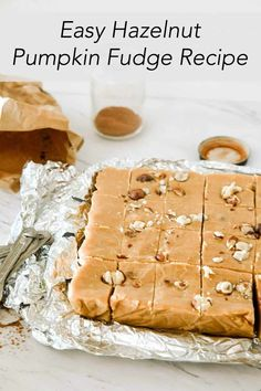 While sweet pies tend to get most of the attention during pumpkin season, another delicious way to use this ingredient is to make pumpkin fudge! Pumpkin Fudge, Pumpkin Pie Spice, Fall Desserts, Delicious Desserts, Marshmallow Creme, Sweet Pie, White Chocolate Chips, Fudge Recipes, Sweets
