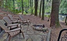 Cherokee Shoals, Ellijay, GA Sliding Rock Cabins.