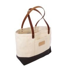Large Everyday Tote with Leather Handles from Truck and Barter @truckandbarter