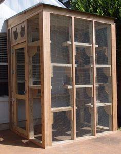 The Cat Carpenter Compact Catio Diy Cat Enclosure, Outdoor Cat Enclosure, Animal Room, Animal House, Cat Habitat, Cat Kennel, Cat Cages, Cat Run, Cat Condo