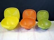 I think my Mom owned just about every Tupperware piece there was made in the in all their colors. She even got toys from Tupperware (the shape sorter ball was my favorite). She used to host Tupperware parties in our home, too (who didn't! I love Tup Great Memories, Childhood Memories, School Memories, Do It Yourself Food, Back In The 90s, Vintage Tupperware, Tupperware Bowls, Tupperware Storage, Oldies But Goodies