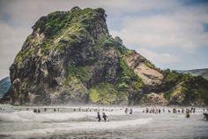 Piha Beach - New Zeeland Credits - Ruth Borgjford