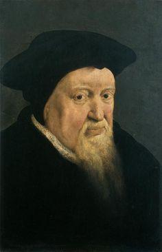 Portrait of Huldrych Zwingli (1484-1531). Swiss Reformer. Pieter Pourbus (circa 1523-1584).