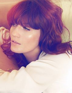 Florence Welch of Florence + The Machine in Harper's Bazaar UK.