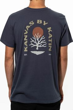 New Arrivals - Katin USA Tees, Organic Cotton, Label, Flag, Coral, Amp, Mens Tops, T Shirt, Collection