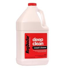 Rug Doctor Industrial Deep Carpet Cleaning Solution, Carpet Detergent for Removing Tough Stains and Stubborn Dirt, Great for Home and Office, 128 oz. Best Carpet Cleaning Solution, Homemade Carpet Cleaner Solution, Homemade Carpet Stain Remover, Deep Carpet Cleaning, Carpet Cleaning Machines, Stain Remover Carpet, Cleaning Solutions, How To Clean Carpet, Cleaning Hacks