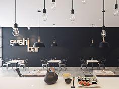 Sushi ichi bar Parramatta, Sydney Australia by Five Canons Architecture