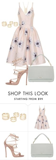 """""""Sans titre #772"""" by wafa-az ❤ liked on Polyvore featuring Chi Chi, Dsquared2, DKNY and Gemelli"""
