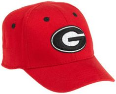 NCAA Georgia Bulldogs Infant One-Fit Hat, Red Top of the World. Save 19 Off!. $12.10