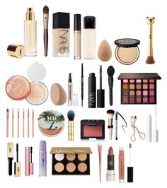 """""""everyday makeup routine #1"""" by halfulghum ❤ liked on Polyvore featuring beauty, Yves Saint Laurent, Charlotte Tilbury, NARS Cosmetics, beautyblender, Too Faced Cosmetics, MAC Cosmetics, Sephora Collection, Puma and Anastasia Beverly Hills"""