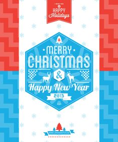 Christmas Cards from Behance for your Inspiration - Image 1 | Gallery