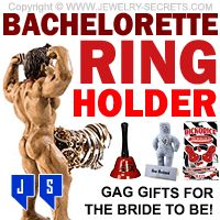 ►► BACHELORETTE RING HOLDER AND GAG GIFTS ►► Jewelry Secrets