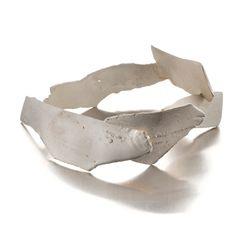 Catalina Brenes. Bracelet. Sterling silver