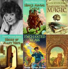 Books by Diana Wynne Jones. You cannot go wrong with any of her books
