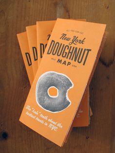 New York Doughnut Map