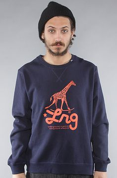 $46 @liftedresearch The Researchicon Crewneck Sweatshirt in Navy by LRG at karmaloop.com - Use repcode SMARTCANUCKS at the checkout for an extra 20% off on karmaloop.com